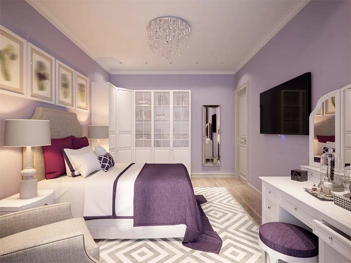 Paint-Your-Bedroom-Walls-in-an-Alluring-Hue